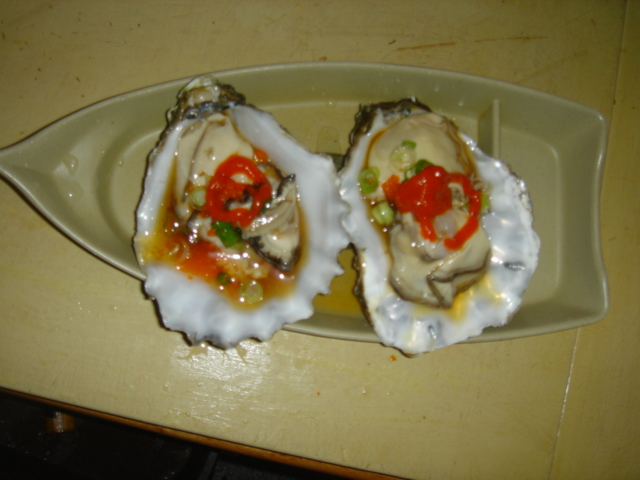 Jumbo oyster special