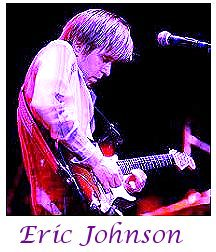 Image of Eric Johnson playing guitar.