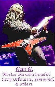 Image of Gus G. playing guitar.