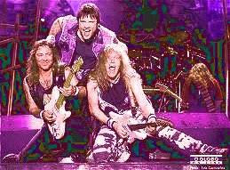 Image of Iron Maiden in concert