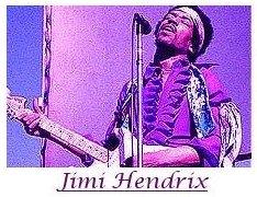 Image #1 of Jimi Hendrix playing guitar.