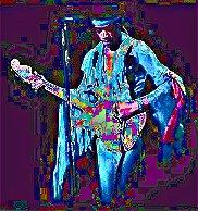 Image #3 of Jimi Hendrix playing guitar.