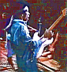 Image #4 of Jimi Hendrix playing guitar.