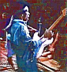 Image #4 of Jimi Hendrix playing guitar.