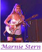 Image of Marnie Stern playing guitar.