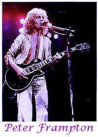 Image of Peter Frampton playing guitar.