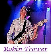 Image of Robin Trower playing guitar.