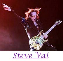Image of Steve Vai playing guitar.